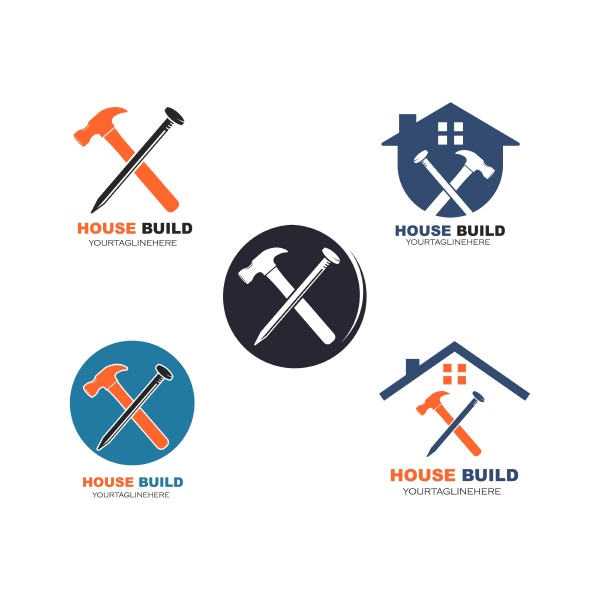 house, build, and, renovation, logo, icon - 29060577