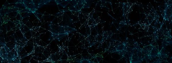 abstrakte polygonale mesh hintergrund digitale illustration