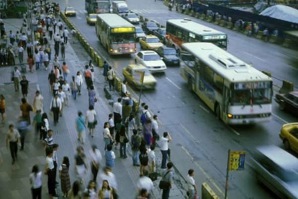 taiwan taipei stadtverkehr
