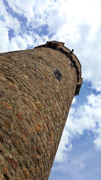 spitzturm ist ein anblick von grossostheim