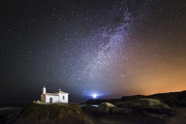 spanien galizien valdovino kleine kapelle virxe