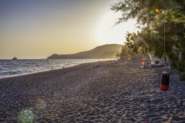 griechenland kreta dytikos strand im sommer
