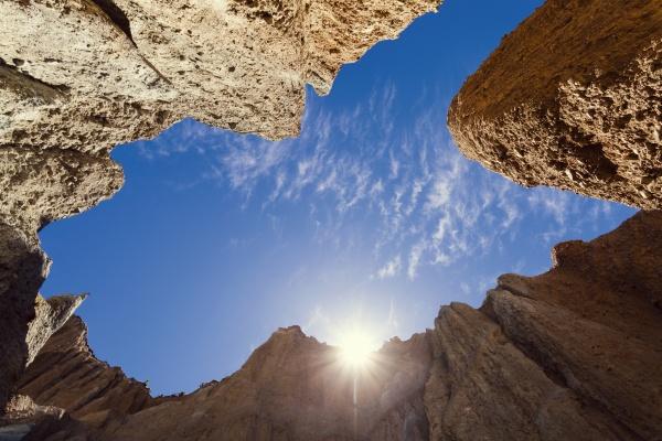 neuseeland suedinsel omarama clay cliff gegen