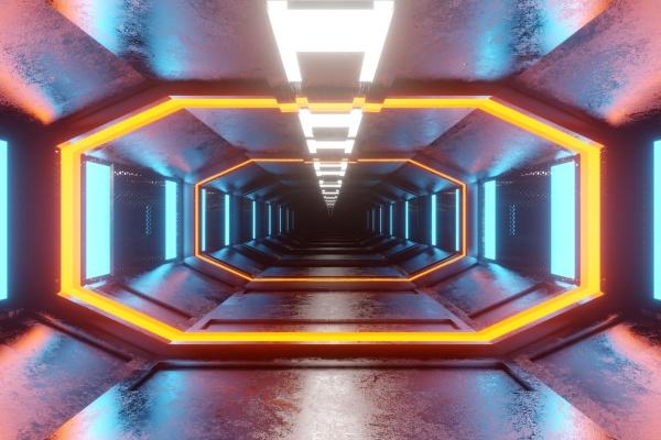 3d gerenderte illustration visualisierung des innenraums