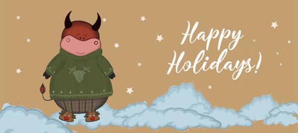 weihnachten kraft papierkarte handgezeichneten stil abbildung