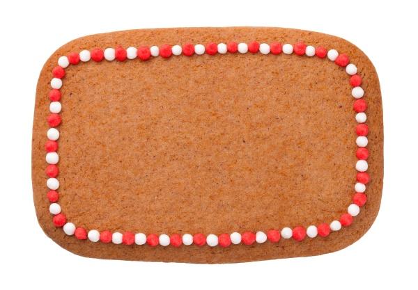 lebkuchen weihnachten cookie in form von