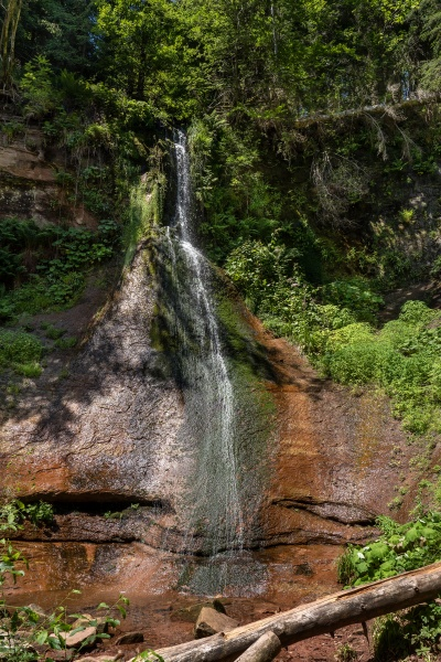 sankenbach wasserfall im schwarzwald
