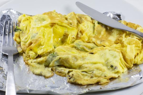 vegetarische omlet