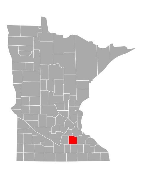 map, of, rice, in, minnesota - 29262180