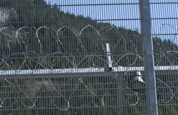 barbed, wire, fence, as, security, measurement - 29478540