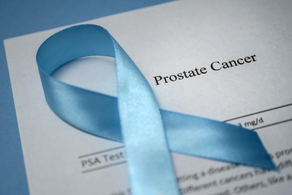 studio aufnahme von prostatakrebs dokument und