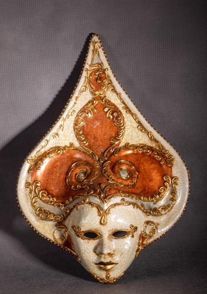 traditionelle venezianische karnevalsmaske