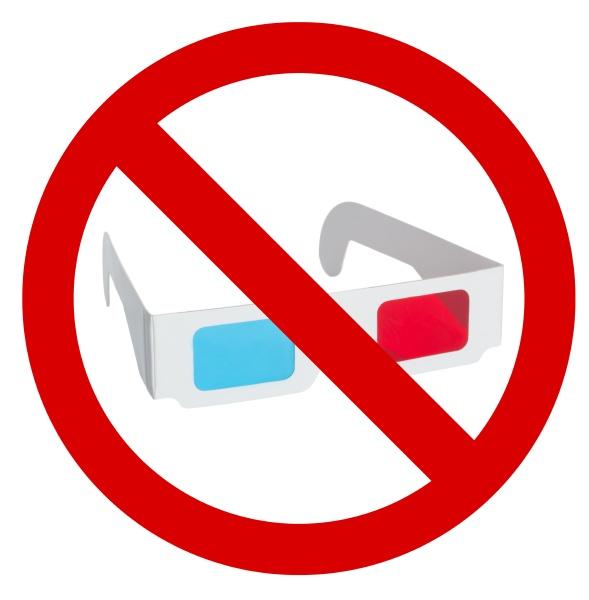 verbot der verwendung von 3d brillen