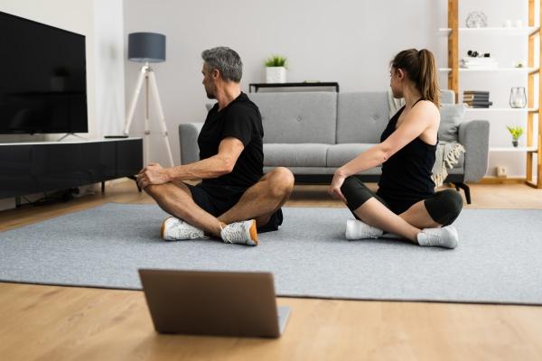 online laptop home fitness workout und