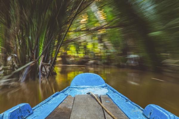 boot auf dem mekong river mekong