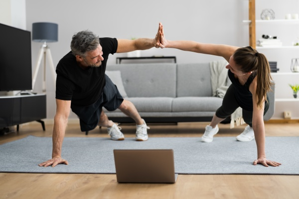 online family gym class workout