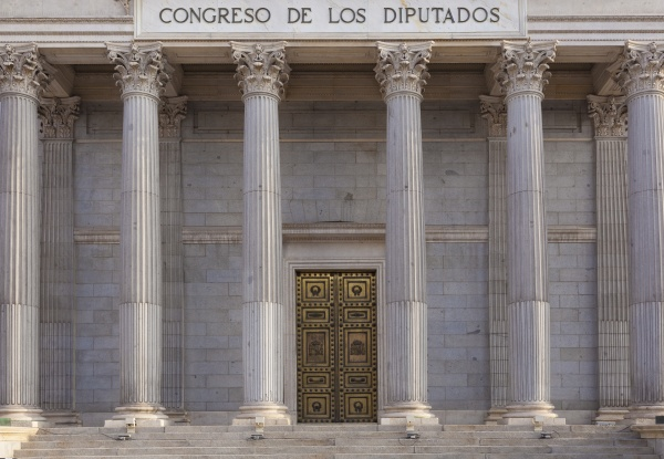spanisches abgeordnetenhaus madrid spanien