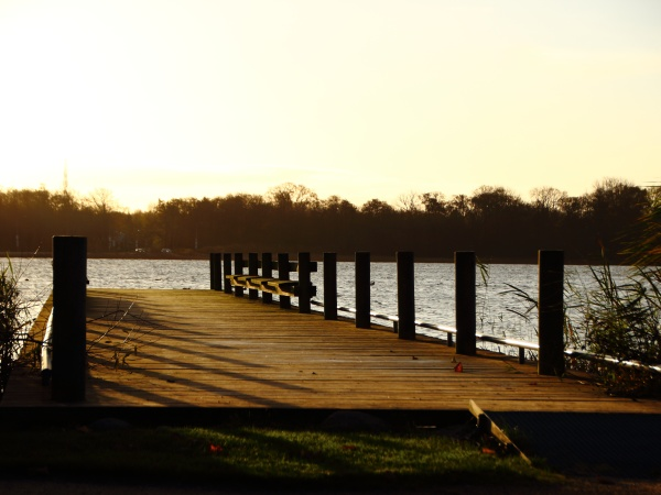 old, wooden, pier, at, lake, in - 29743731