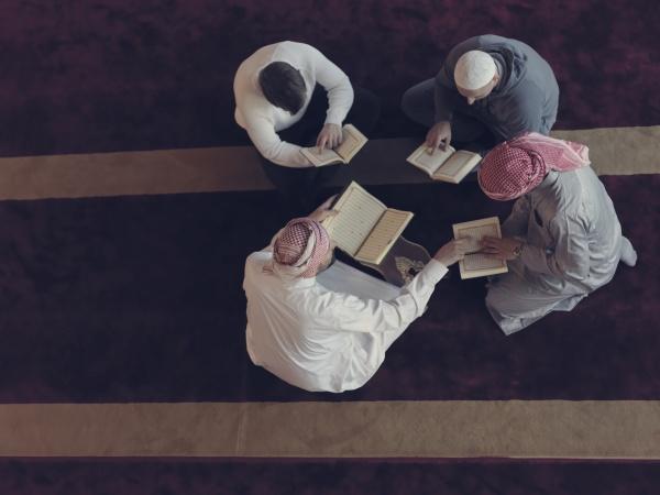 dr ansicht von muslimen in der