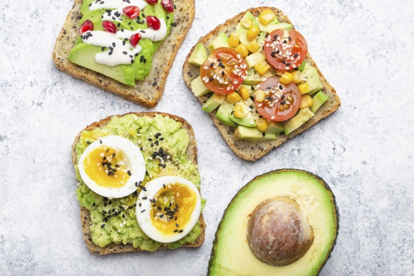 clean, eating, , , avocado, toasts - 29887795