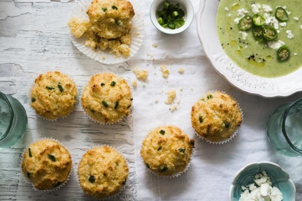 mais und jalapeno muffins