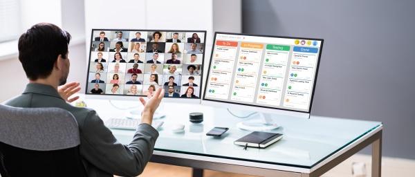 webinar meeting fuer online remote videokonferenzen