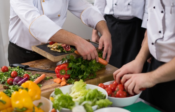 teamköche, und, köche, bereiten, das, essen - 29949851