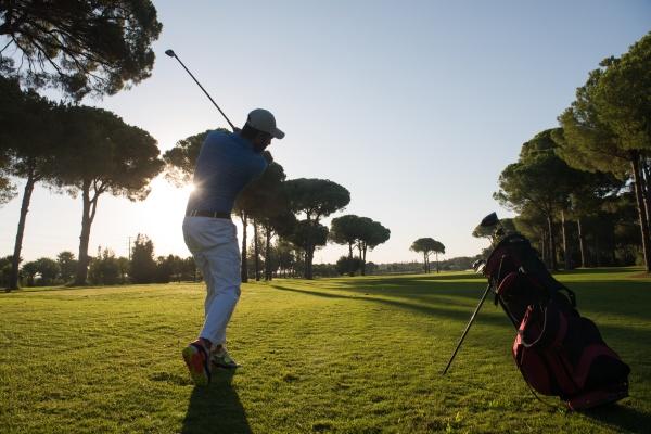 golf, player, hitting, long, shot - 29965504