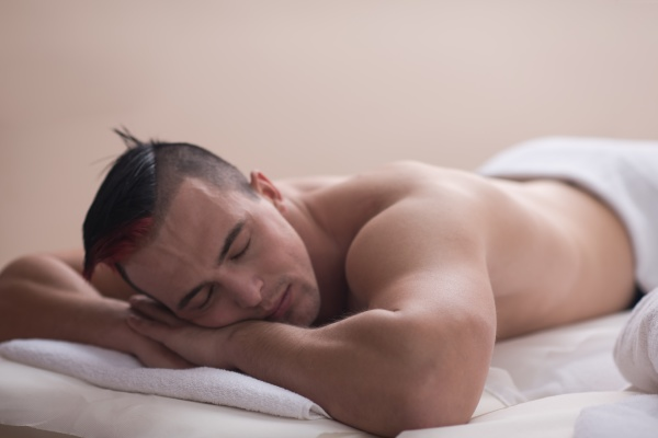 handsome, man, resting, in, a, spa - 30029066