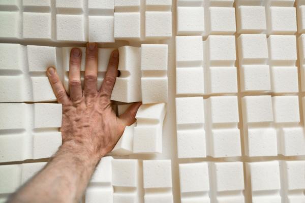 testen orthopaedischer memory foam core matratze