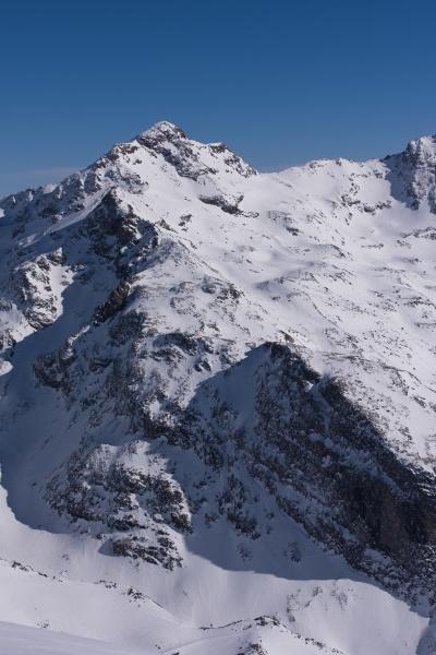 schoene berglandschaft im winter