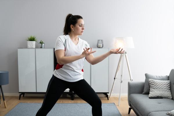psychische hand heilende energie licht