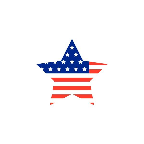 u.s.a, flagge, vektor, stern, illustration, design - 30306790