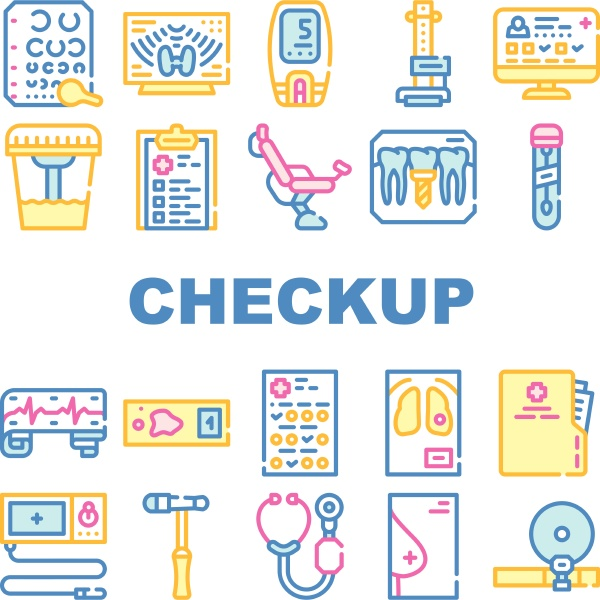 medical, checkup, health, collection, icons, set - 30323758