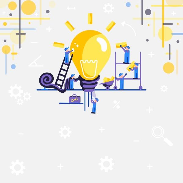 abstract zusammenarbeit bessere ergebnisse gruppenanstrengungskonzept ideen