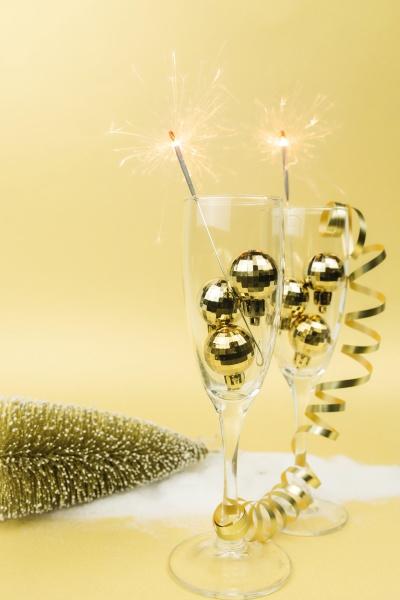 sparkling, wine, glasses, , sparklers, - 30497565