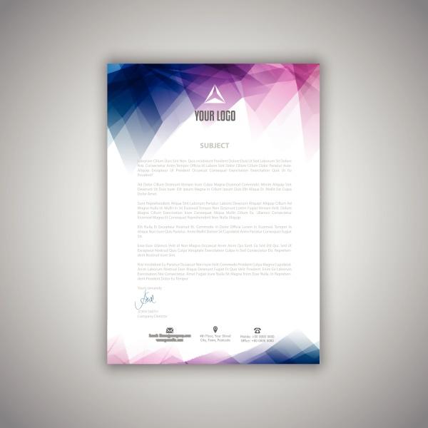 letterhead, template, 2406 - 30608574