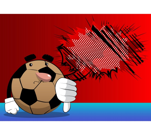 fussball zeigt abneigung handzeichen