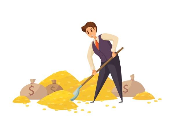 geld, erfolg, kapital, gewinn, reichtum, geschäftskonzept. - 30667243