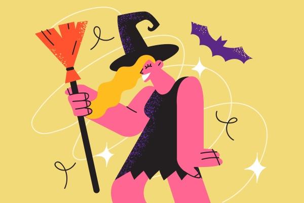 halloween feier feiertag und festivalkonzept