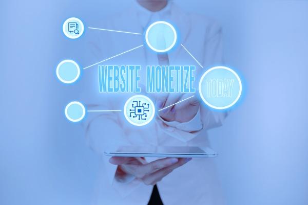 text, sign, showing, website, monetize, - 30685148