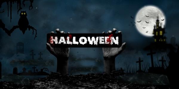 halloween konzept in fantasy night