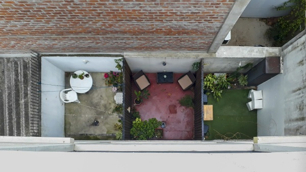 urban, scene, top, view, courtyards - 30706593