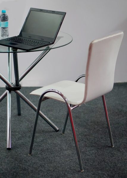 chair, , glass, top, table, and, lap - 30723295