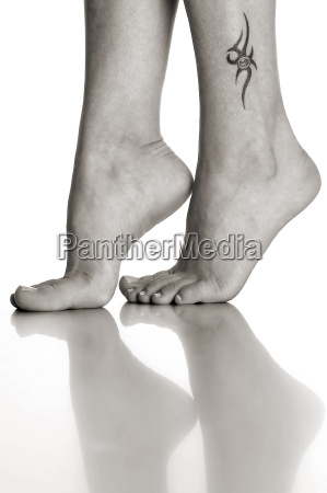 just feet