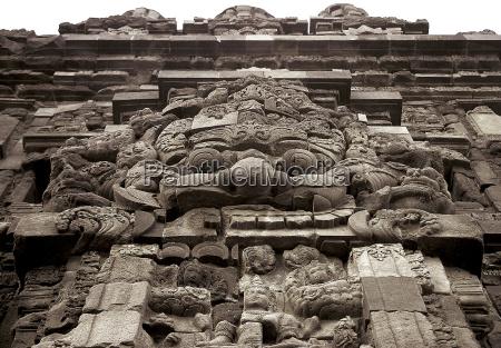 tempelmaske in borobodur