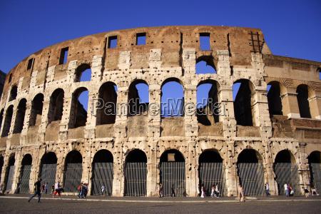 rom roma italia kolosseum italien colosseum
