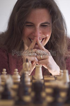 schachspielerin