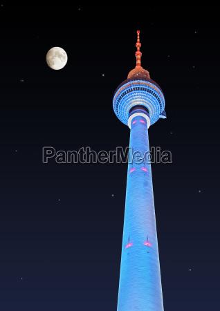 berliner fernsehturm am alex