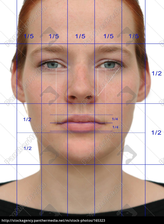 Perfektes Gesicht (Raster) - Lizenzfreies Bild - #165323 ...